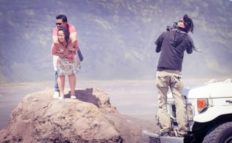 behind the scene prewedding