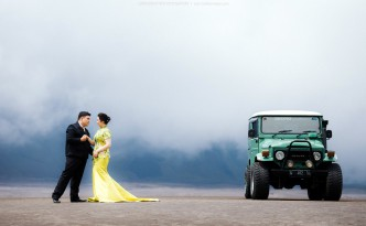 prewedding bromo congseam