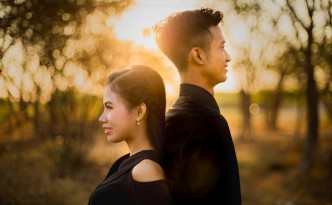 prewedding sumba sunset terbaik